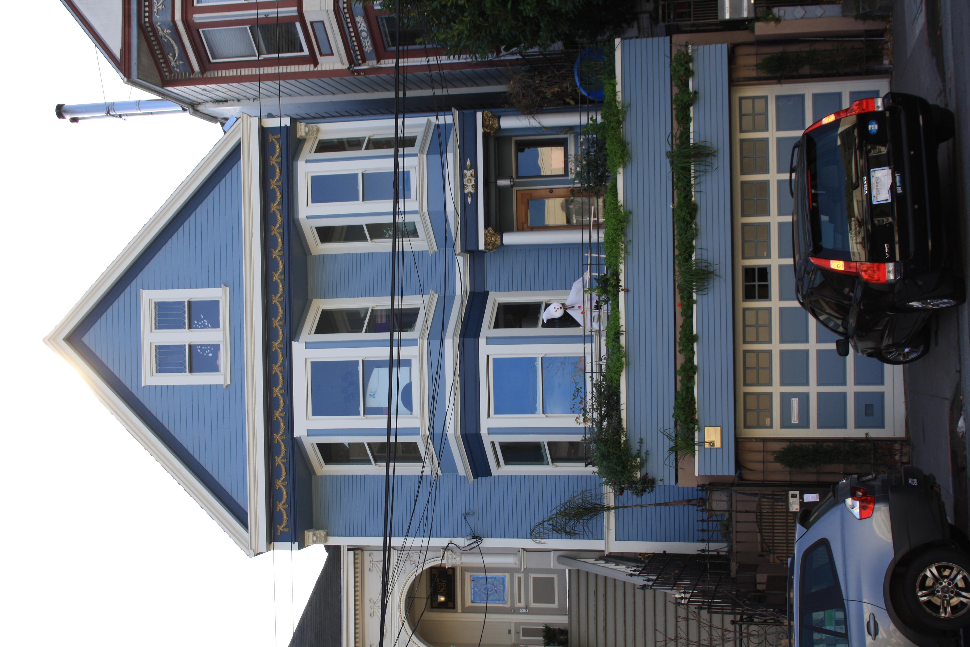 San francisco street art cha t l 39 assaut des etats unis - La maison bleue chanson ...